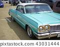 雪佛蘭Impala第三代1964年60年代華麗美國電影符號全尺寸汽車大型車美國品味 43031444