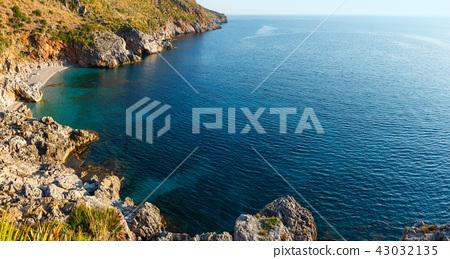 Sea bay in Zingaro Park, Sicily, Italy 43032135