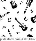 吉他 無縫模式 無縫圖樣 43034042