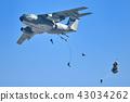 เครื่องบินขนส่งของกองกำลังป้องกันตนเองทางอากาศ C-1 43034262