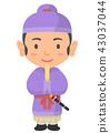 A noble Asuka / Nara period 43037044