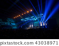 music brand showing on stage or Concert Live  43038971