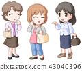 女生 女孩 女性 43040396