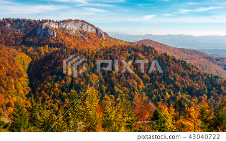 gorgeous mountainous autumn landscape. 43040722
