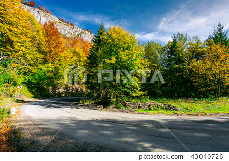 lovely autumn landscape in mountains 43040726
