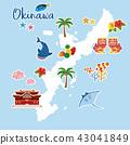 沖繩地圖旅遊地圖 43041849
