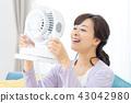 แม่บ้านเย็นแม่แม่พร้อมพัดลมไฟฟ้า 43042980