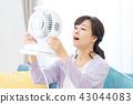 แม่บ้านเย็นแม่แม่พร้อมพัดลมไฟฟ้า 43044083