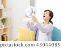 แม่บ้านเย็นแม่แม่พร้อมพัดลมไฟฟ้า 43044085