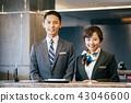 พนักงานต้อนรับธุรกิจ 43046600