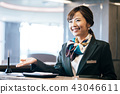 Business receptionist 43046611