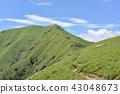 도쿠시마 현 켄잔 앞으로의 산은 지로우규우 43048673