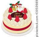 เค้กวันคริสต์มาส,คริสต์มาส,ซานต้า 43050989