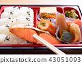 맛있는 燒鮭의 막중 도시락 43051093