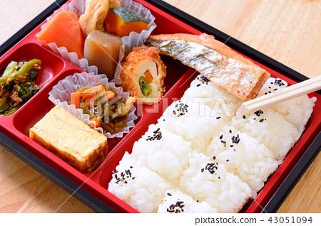 맛있는 燒鮭의 막중 도시락 43051094