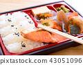 맛있는 燒鮭의 막중 도시락 43051096