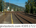 Train station for passenger and freight transport. 43051722