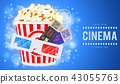 cinema, movie, popcorn 43055763