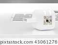 USB flash drive 43061276