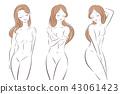 女性 女 女人 43061423