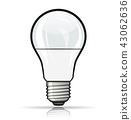 bulb, light, lightbulb 43062636