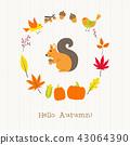 动物 树叶 枫树 43064390