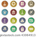 infrastructure icon set 43064913