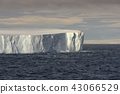 Huge Tabular Iceberg Floating In Bransfield Strait 43066529