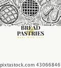 pastry bread food 43066846