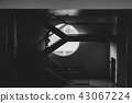 person stepping up stairs to sucess  43067224