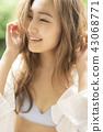 人物 肖像 女生 43068771