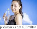 스포츠 여성 초상화 43069041