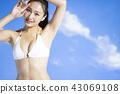 泳裝女性肖像 43069108