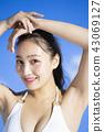 泳裝女性肖像 43069127