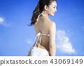 泳裝女性肖像 43069149