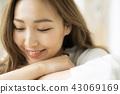 放鬆生活方式女性形象 43069169