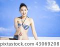 泳裝女性肖像 43069208