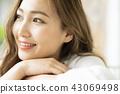 人物 肖像 女生 43069498