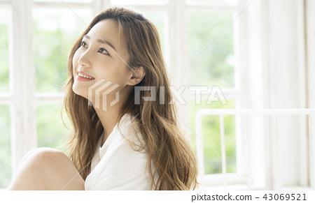 放鬆生活方式女性形象 43069521