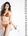 泳裝女性肖像 43069698
