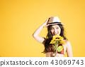 泳装女性肖像 43069743