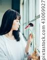 花生活女性肖像 43069927