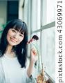 花生活女性肖像 43069971