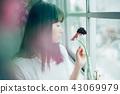 花生活女性肖像 43069979