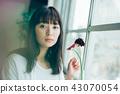 花生活女性肖像 43070054