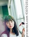 花生活女性肖像 43070101