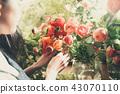 花店的一名婦女 43070110