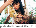 花店的一名妇女 43070113