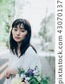 꽃이있는 생활 여성 인물 43070137
