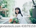 꽃이있는 생활 여성 인물 43070150
